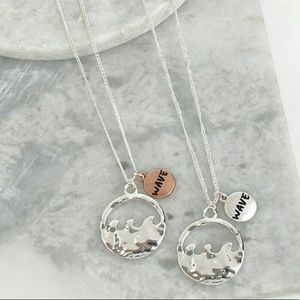 Necklace/Earring Wave Set